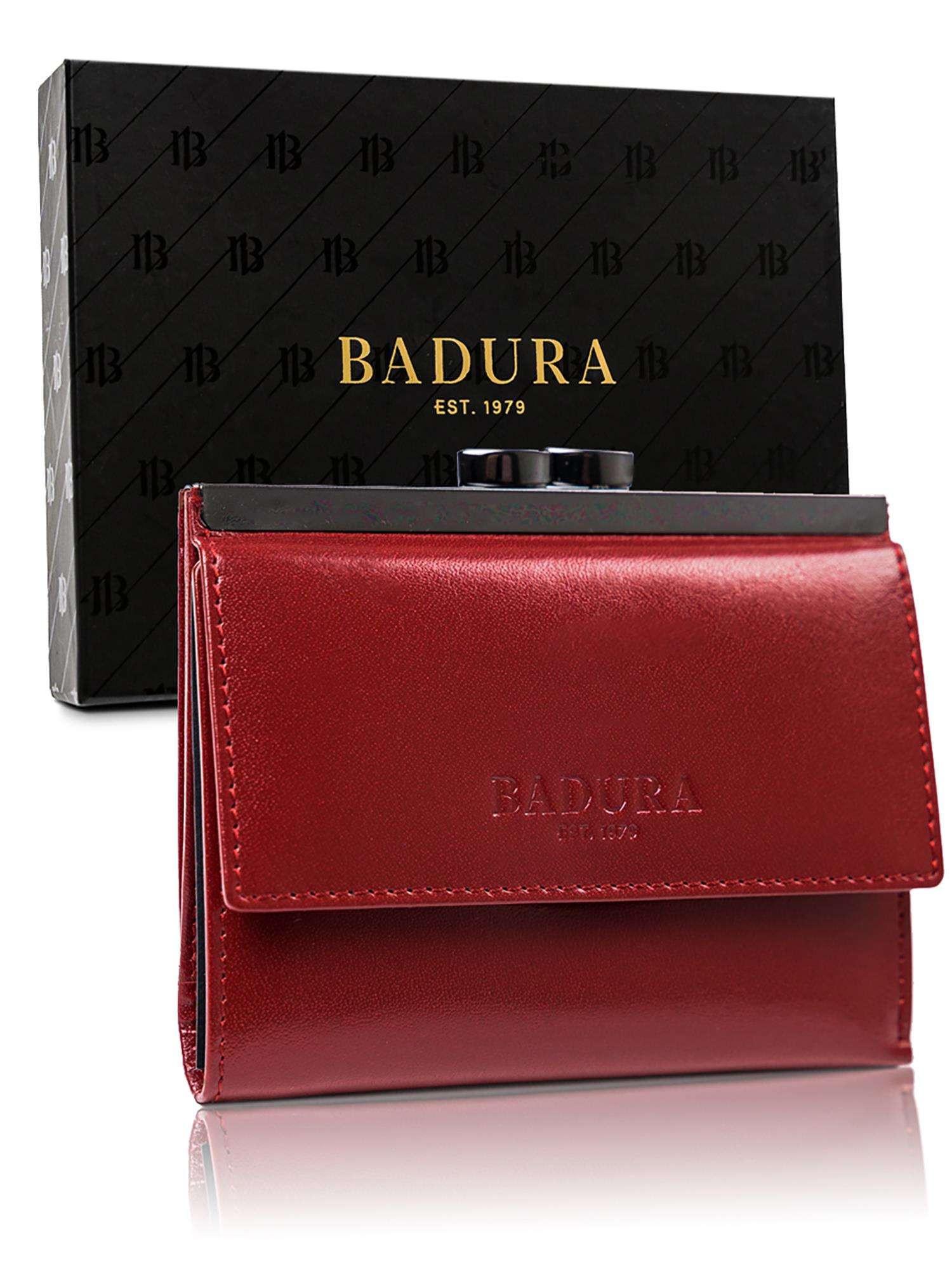 Kožená pánska peňaženka Badura červená one size