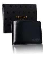 Badura Čierna podlhovastá pánska peňaženka one size