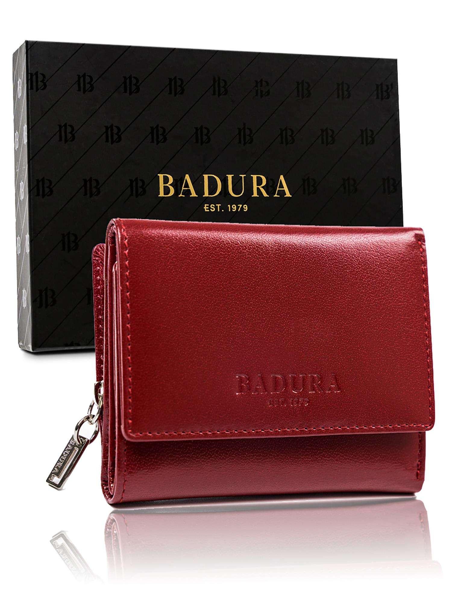 Pánska kožená peňaženka Badura Red one size