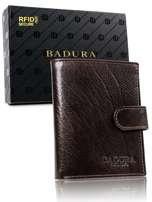 Hnedá pánska peňaženka Badura so sponou one size