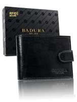 Čierna pánska peňaženka Badura so sponou one size