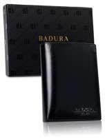 Čierna pánska kožená peňaženka Badura one size