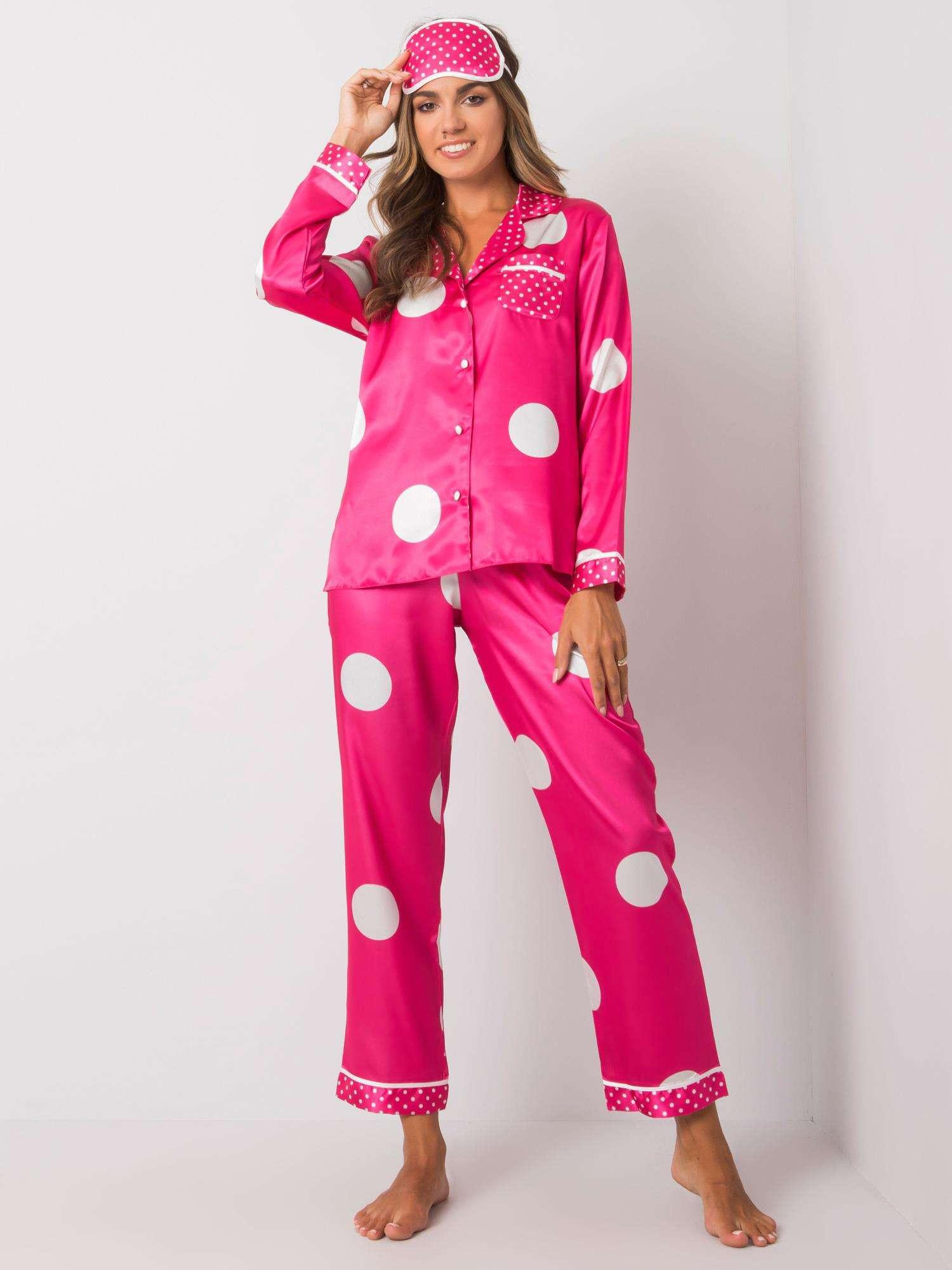 Ružové pyžamo s hráškovou náplňou XL