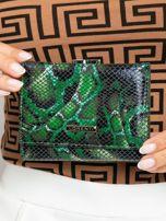 Zelená dámska peňaženka sa vzormi ONE SIZE