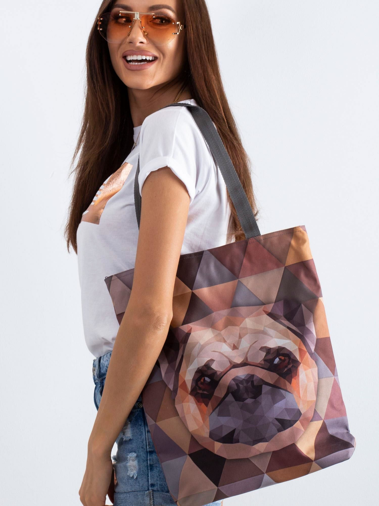 Látková taška s potiskem ONE SIZE