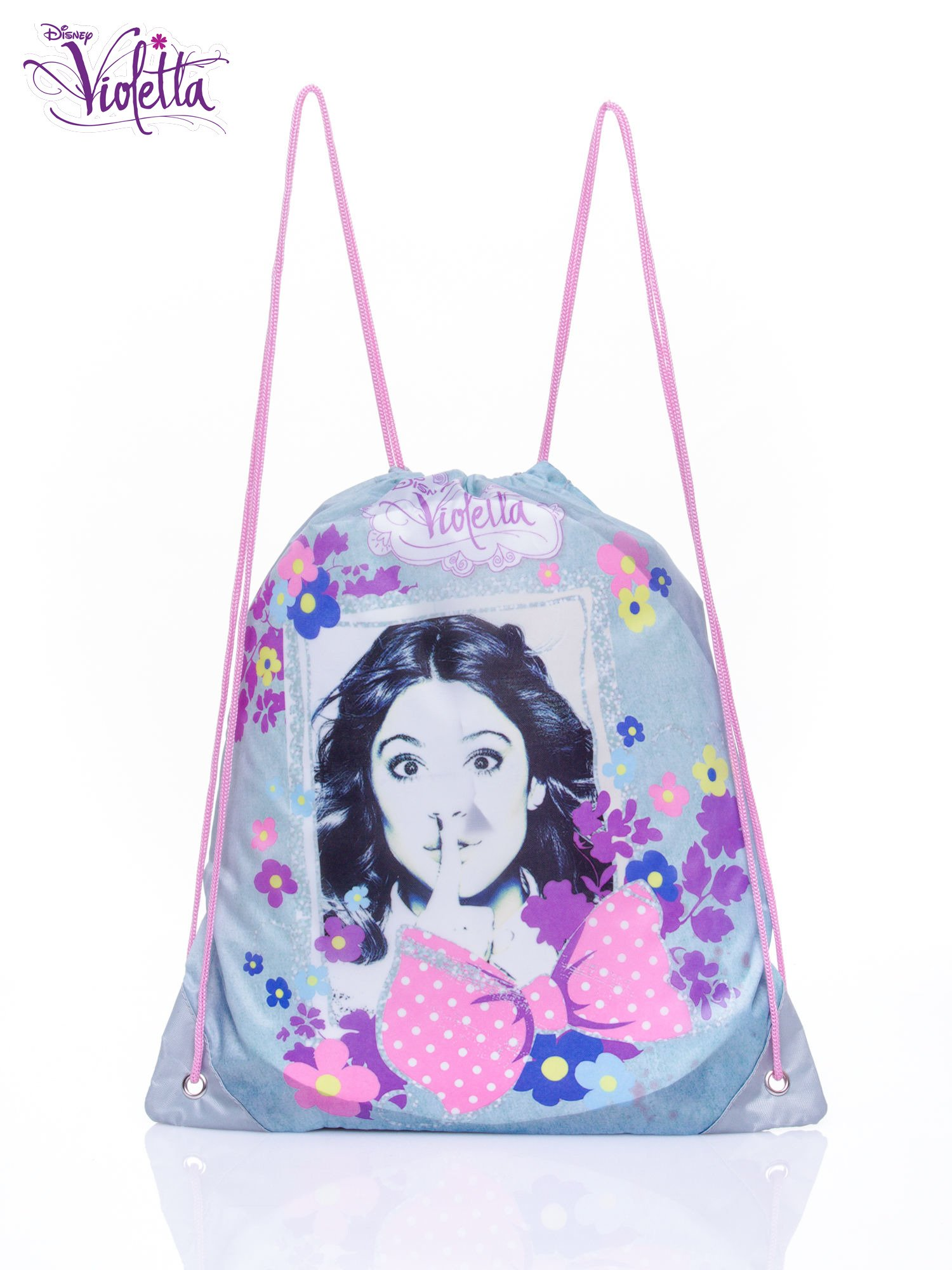 Modrý batoh s taškou Violetta ONE SIZE