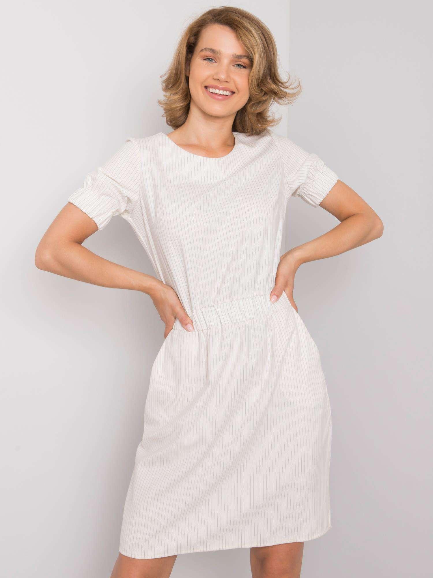 Dámske neformálne šaty Ecru 36