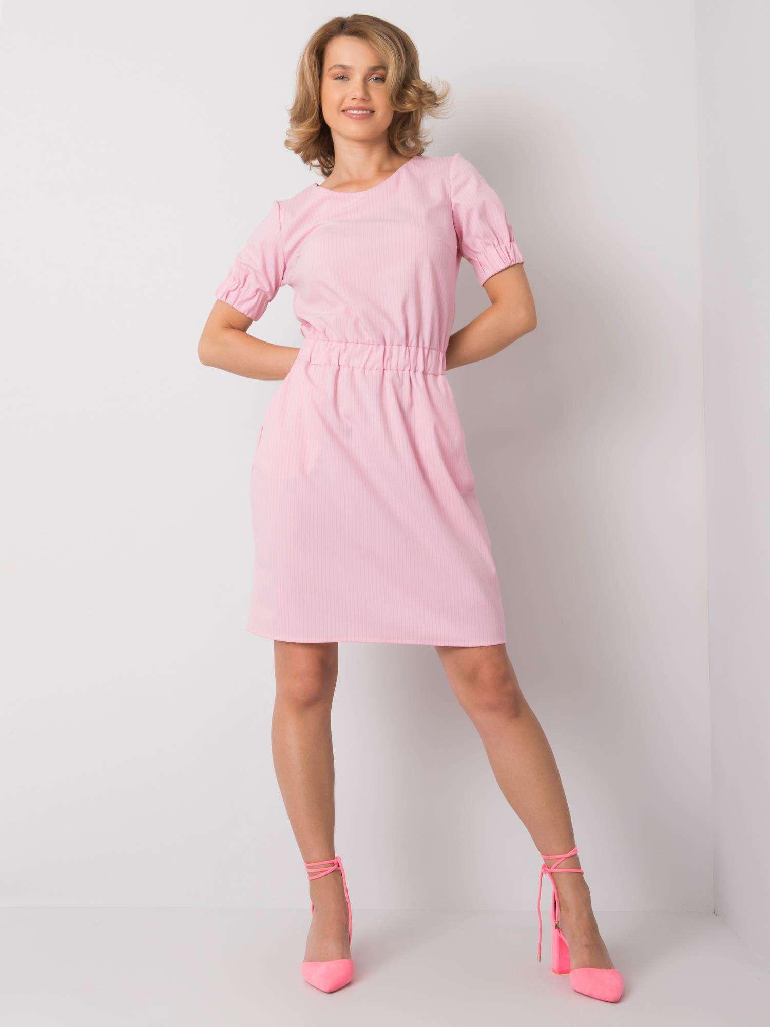 Ružové dámske šaty každý deň 42