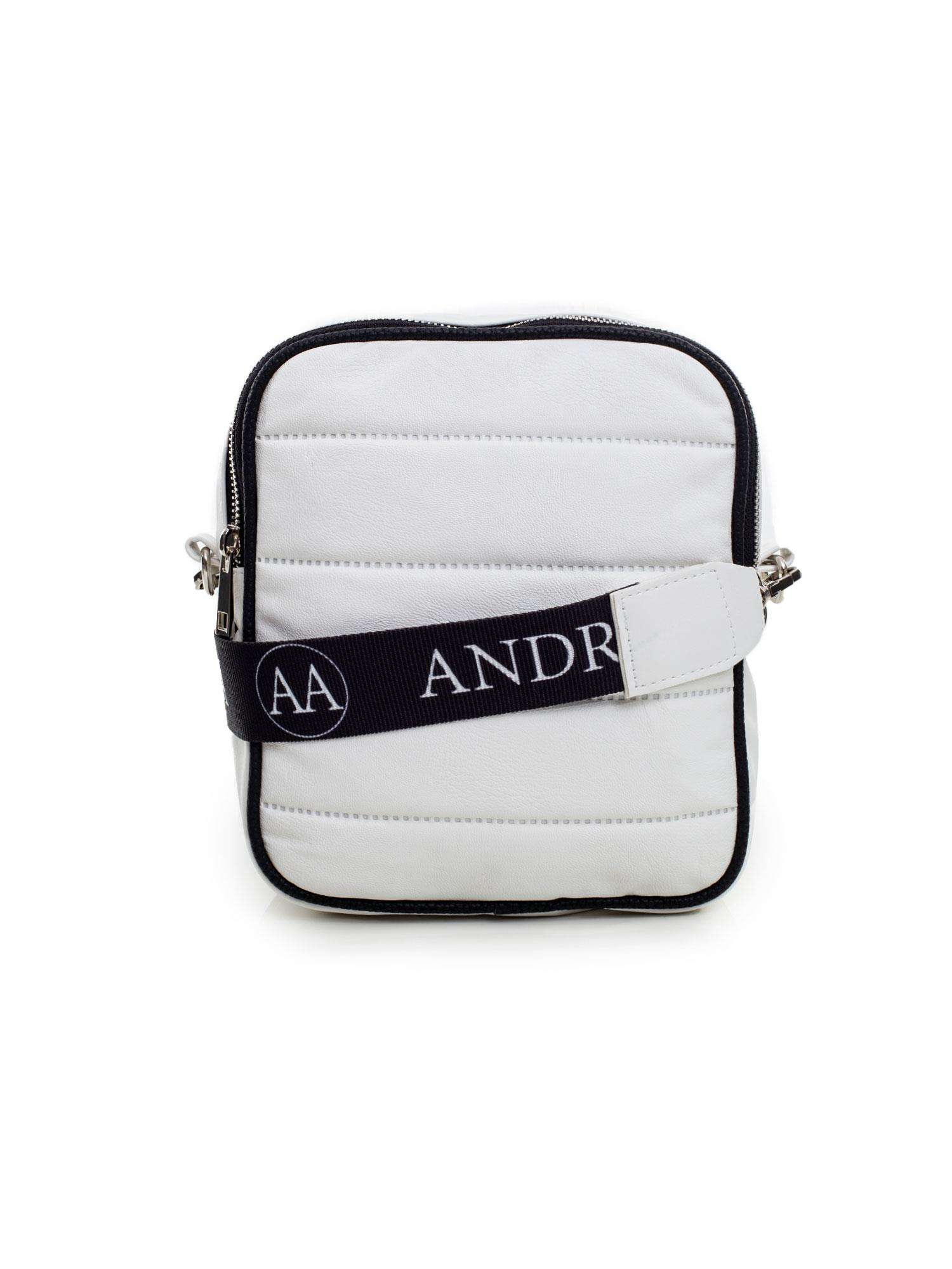 Biela prešívaná kabelka pre ženy one size