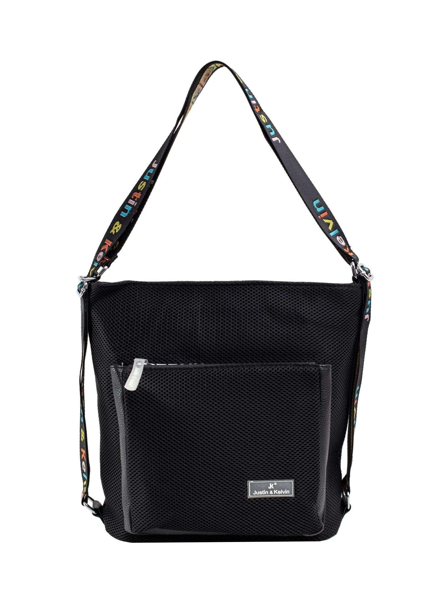 Dámska čierna taška cez rameno one size