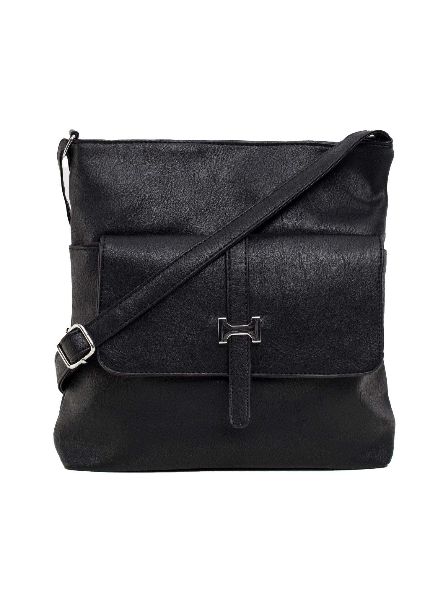 Čierna klopová taška ONE SIZE