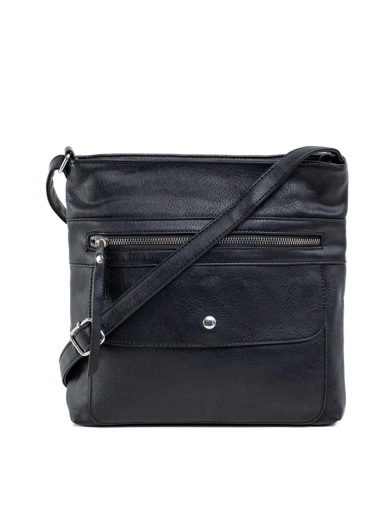 Čierna taška s vreckami ONE SIZE