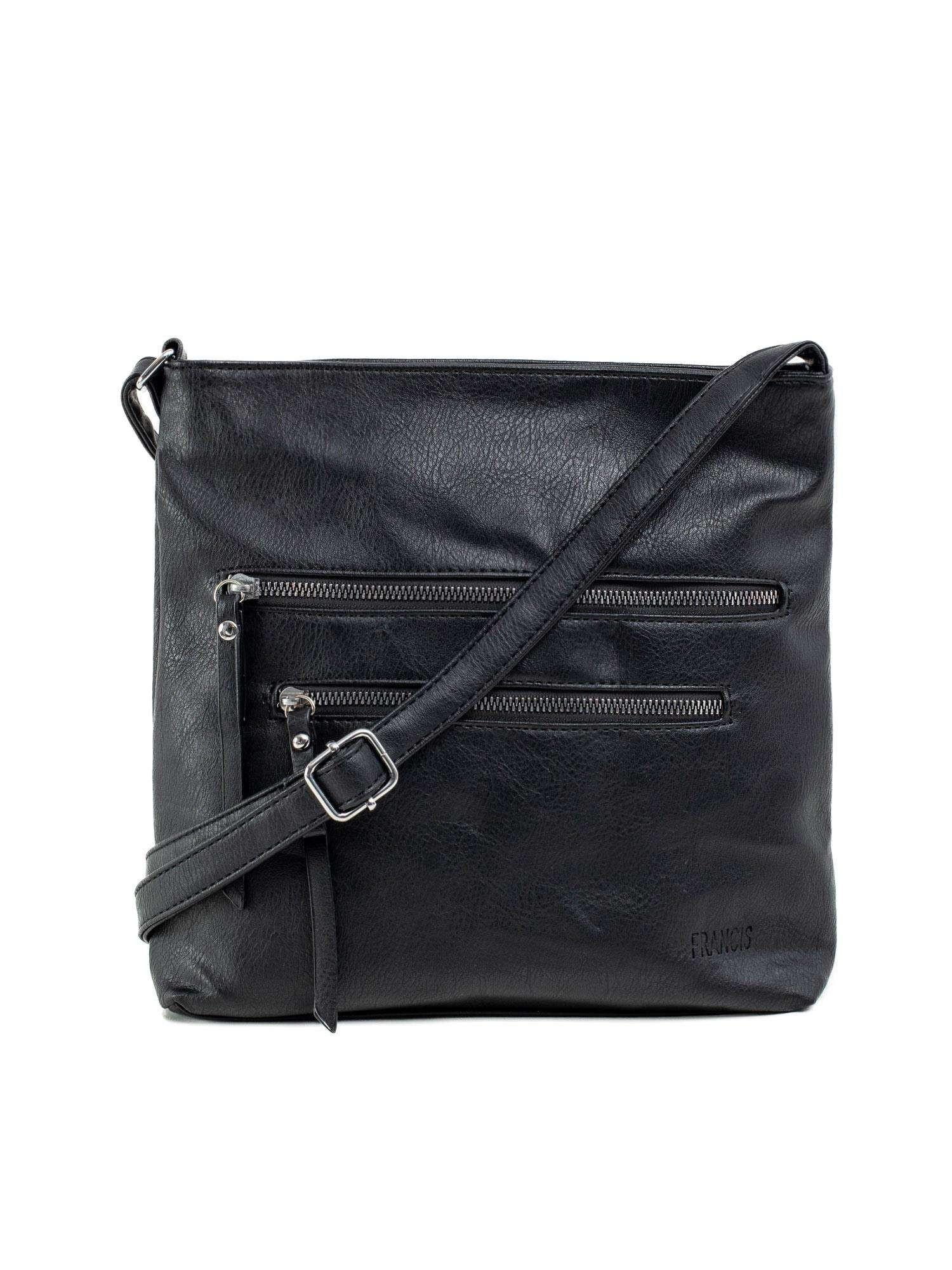 Dámska čierna taška s vreckami ONE SIZE