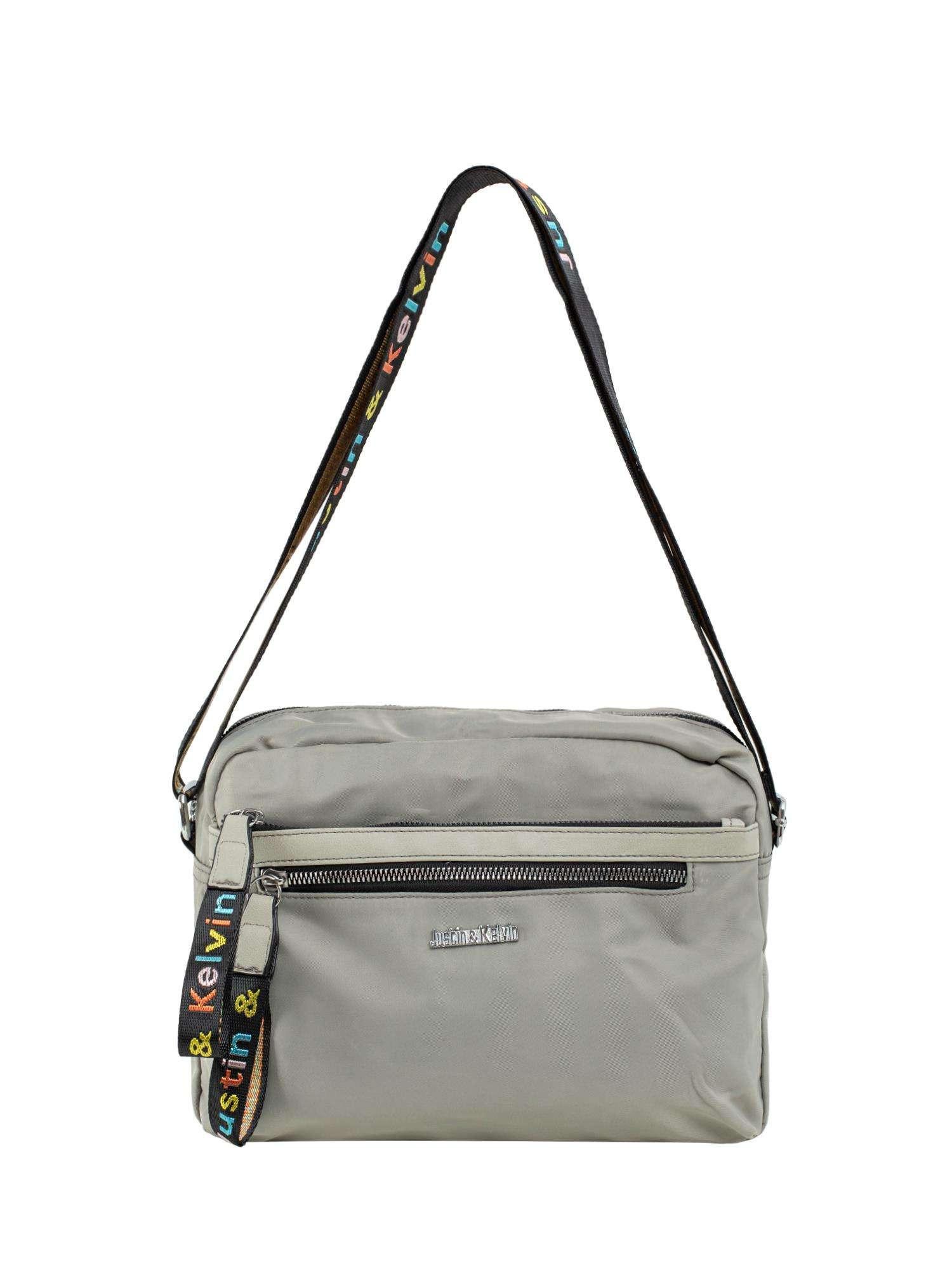 Šedá dámska taška s vreckami ONE SIZE