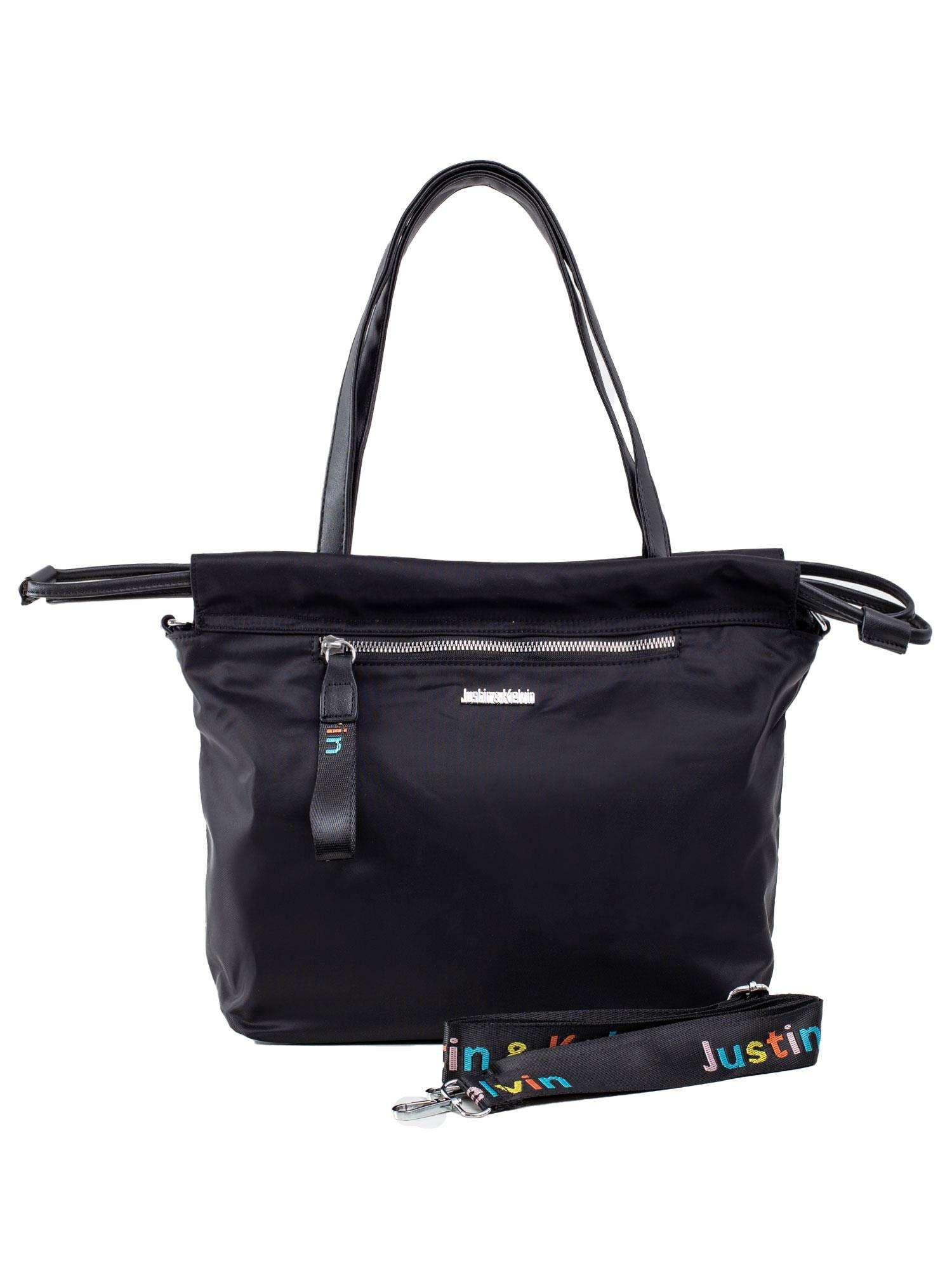 Dámska čierna mestská taška ONE SIZE