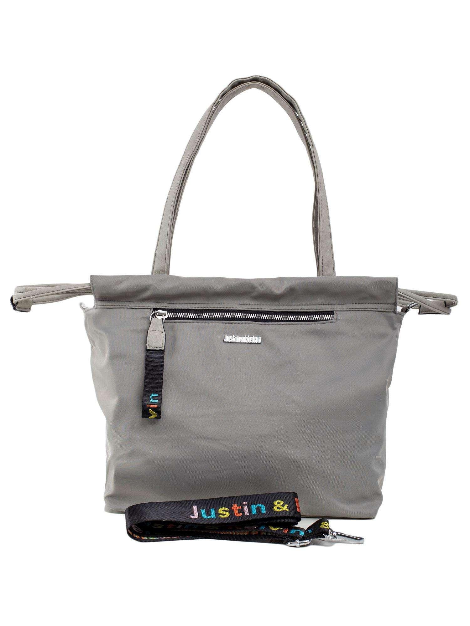 Šedá dámska mestská taška ONE SIZE
