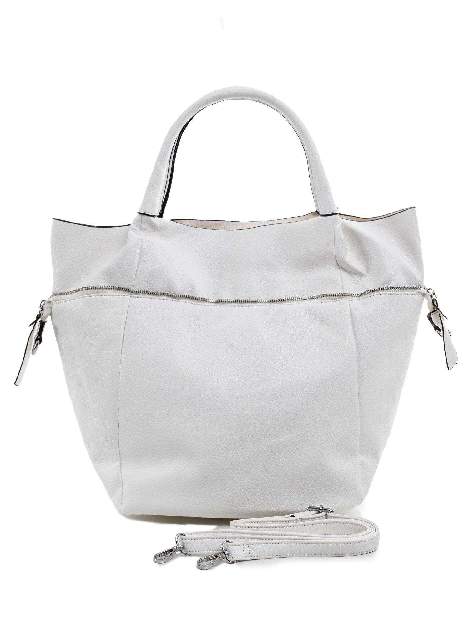Dámska veľká biela taška ONE SIZE