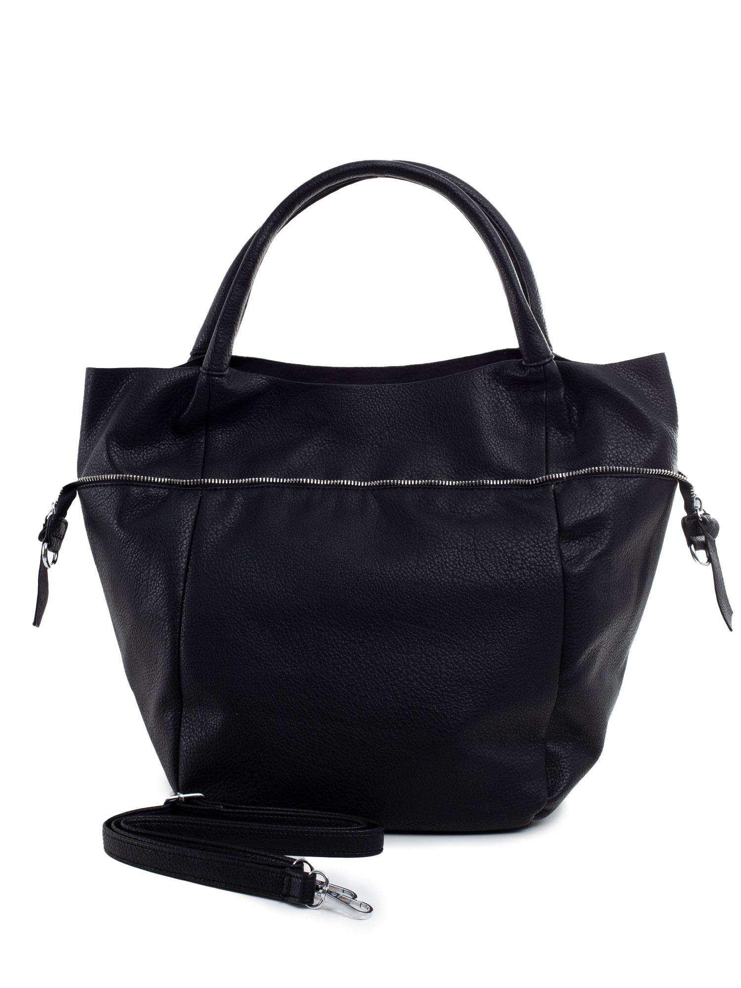 Dámska veľká čierna taška ONE SIZE