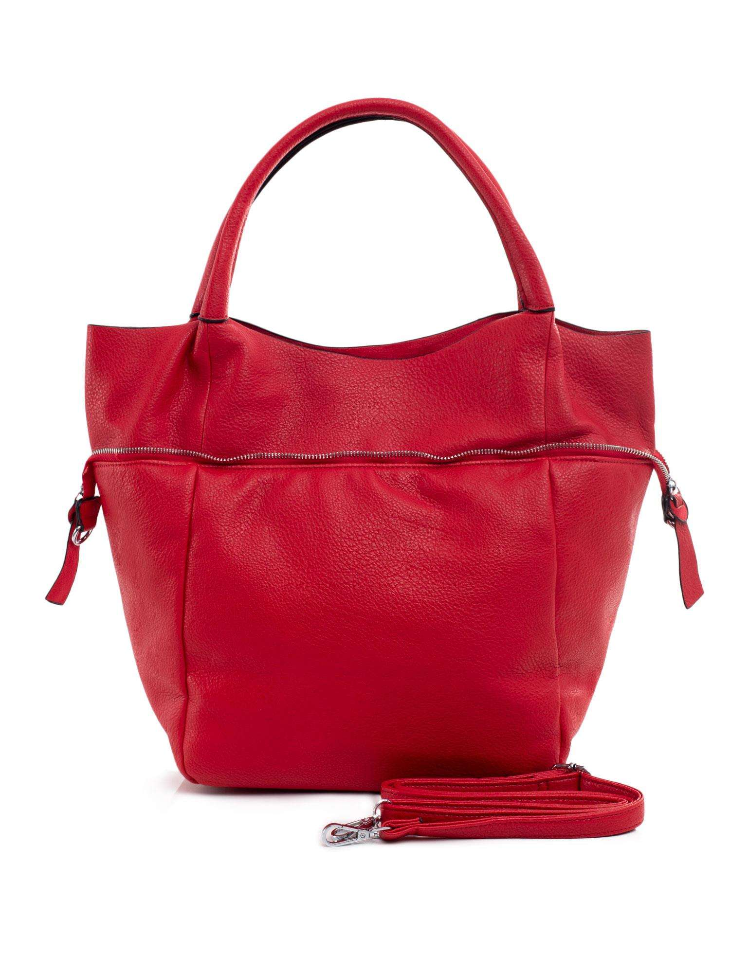 Dámska veľká červená taška ONE SIZE