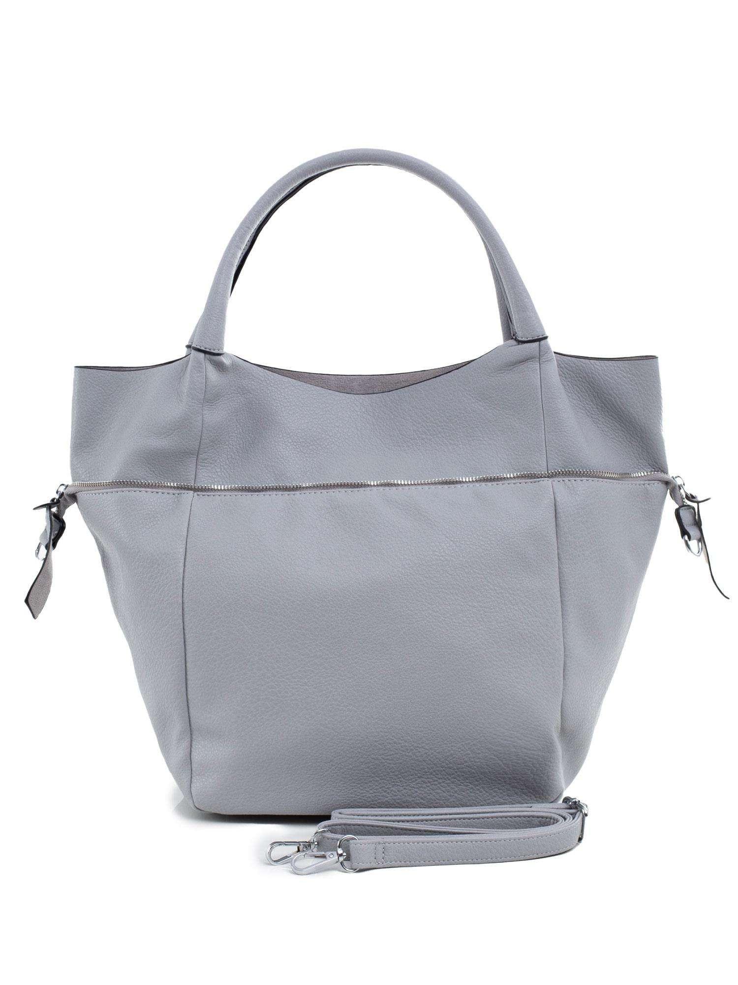 Dámska veľká sivá taška ONE SIZE