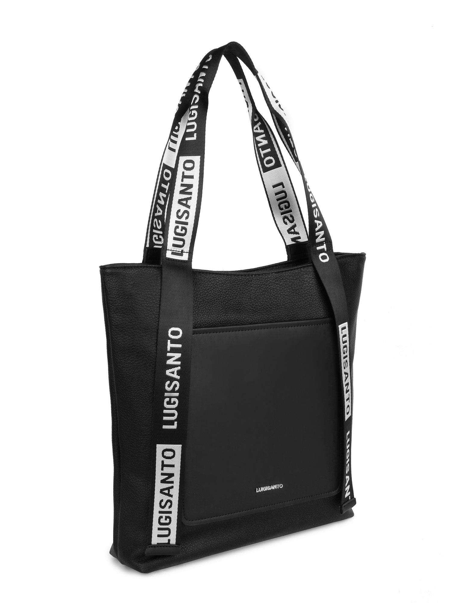 Čierna mestská taška LUIGISANTO