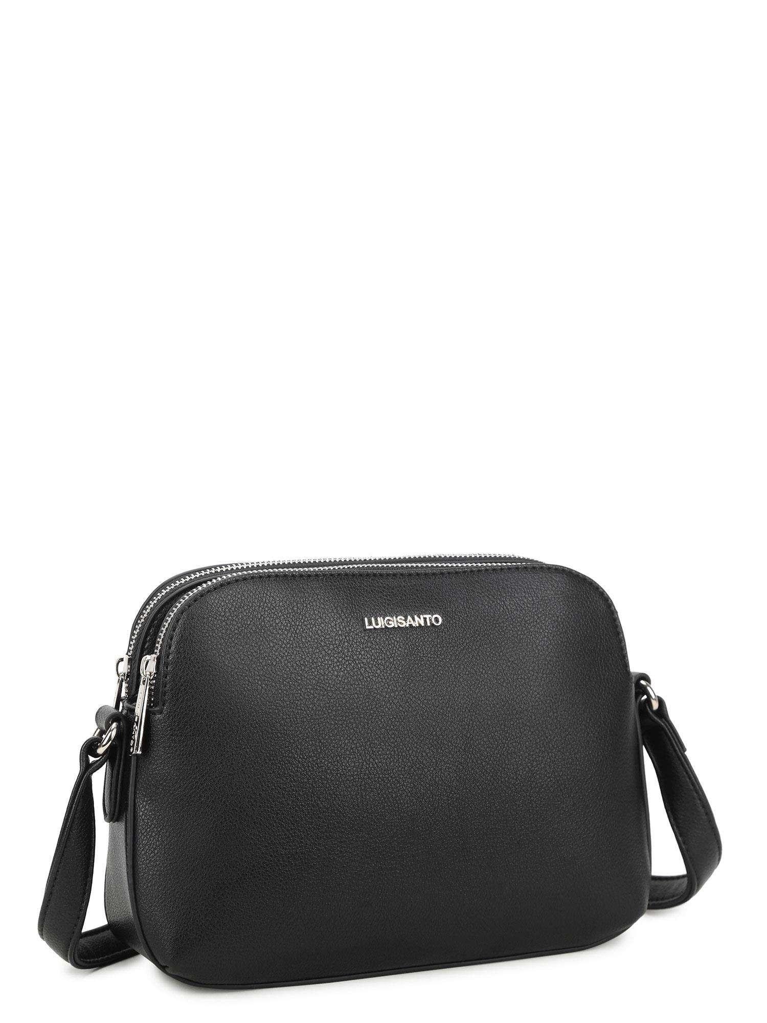Dámska čierna kabelka LUIGISANTO ONE SIZE