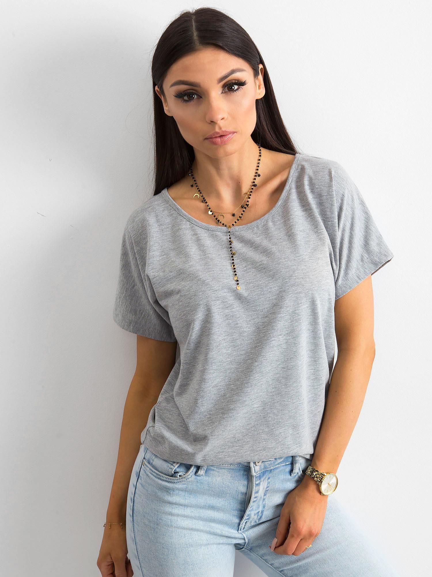 Dámske šedé tričko XS