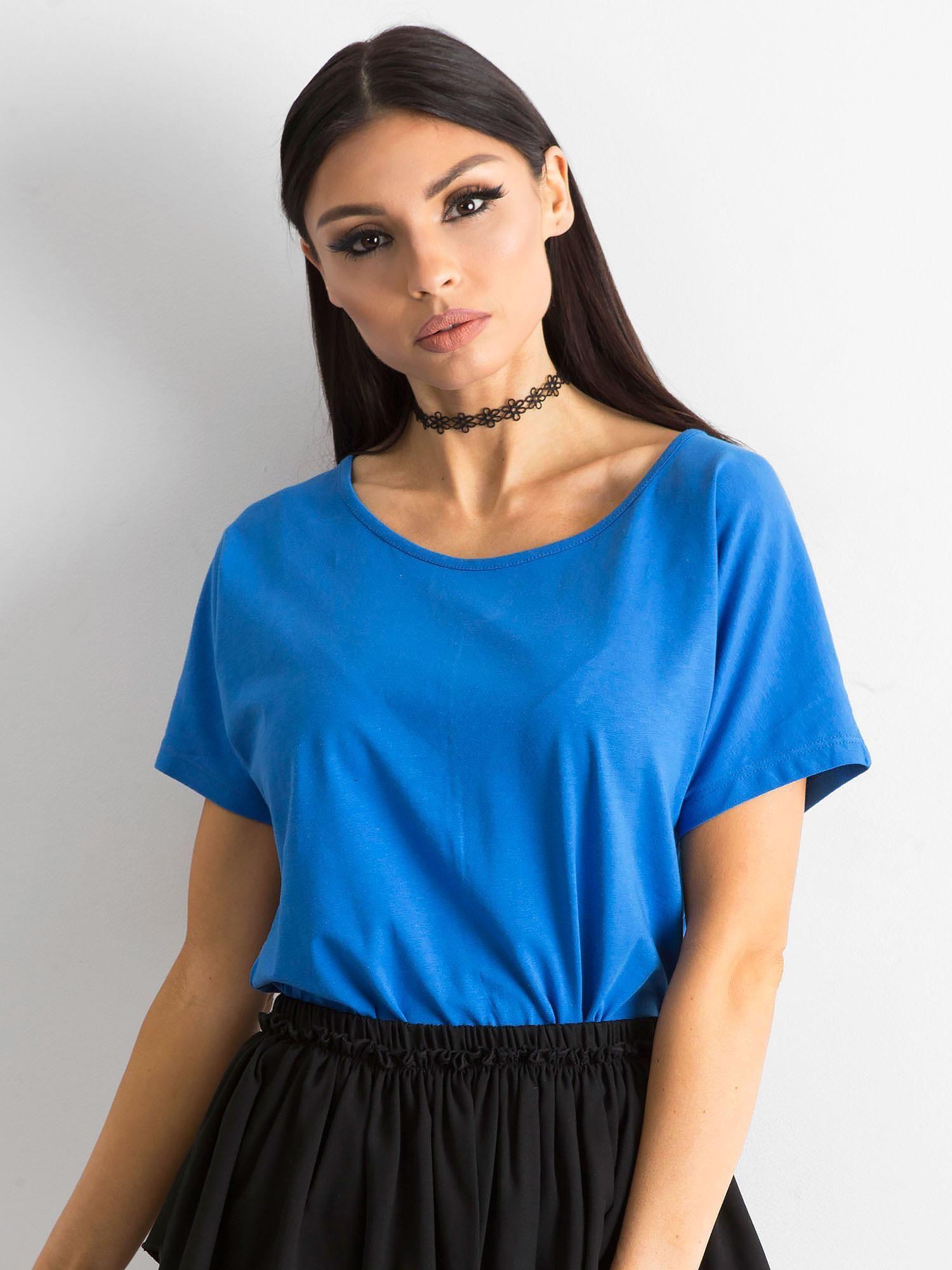 Dámske modré tričko L