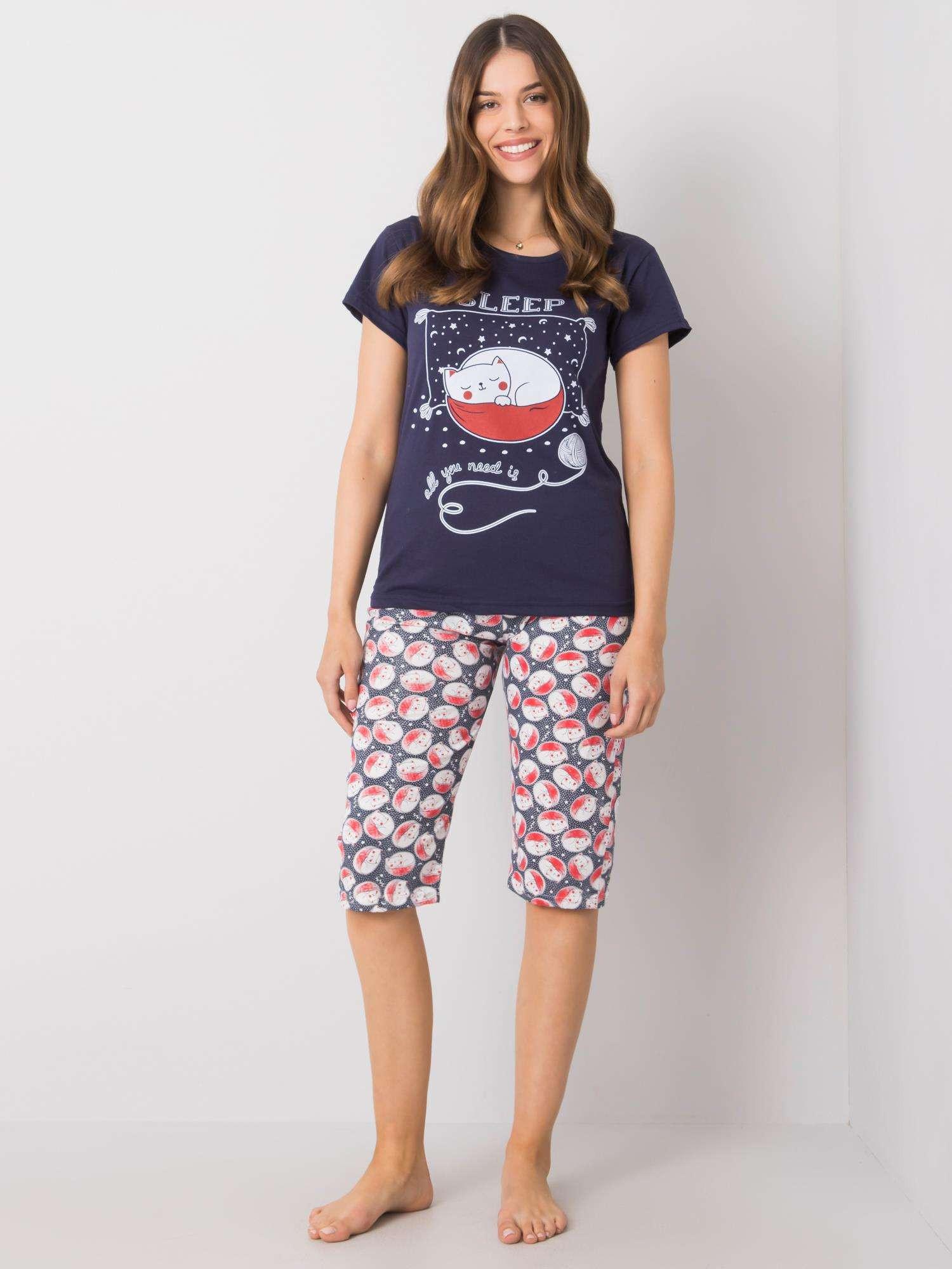 Dvojdielne dámske pyžamo XL