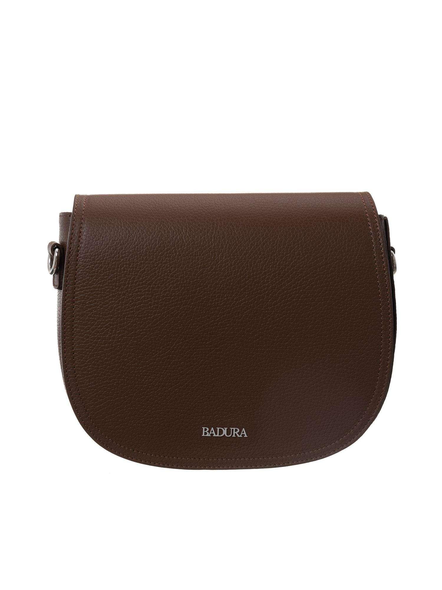 Badura hnedá kožená taška one size