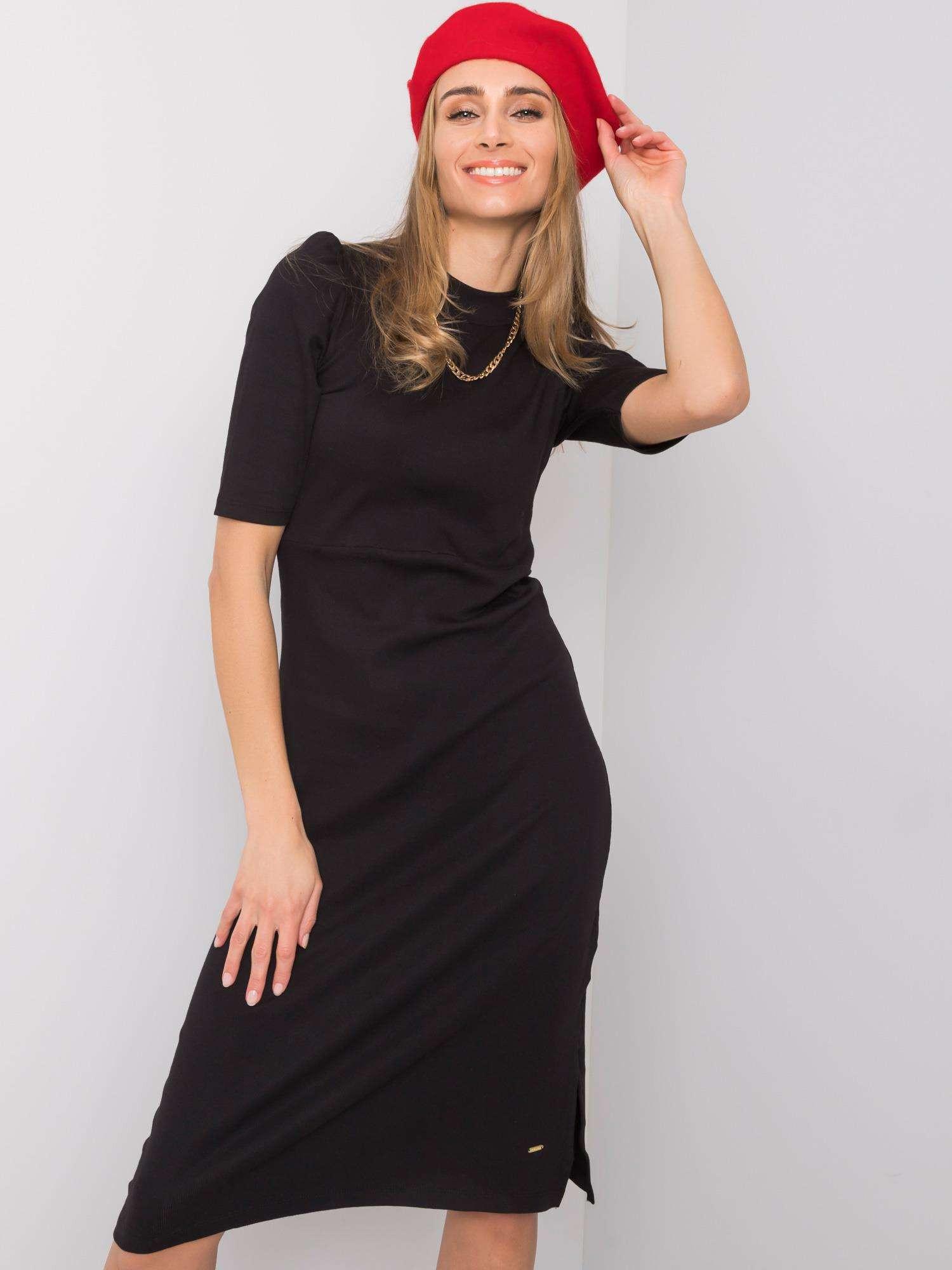 Dámske čierne šaty S