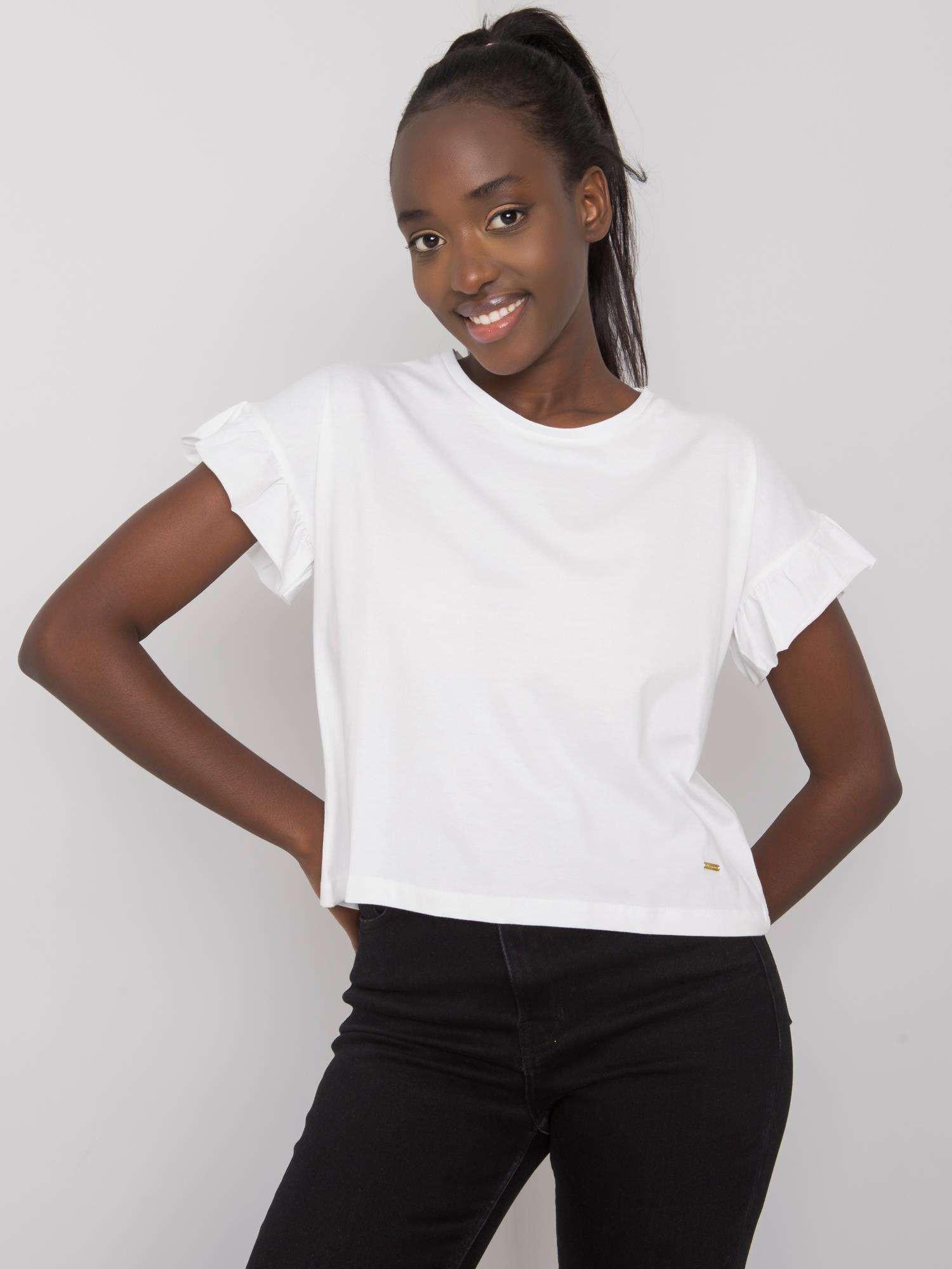 Dámske dámske bavlnené tričko s dlhým rukávom S