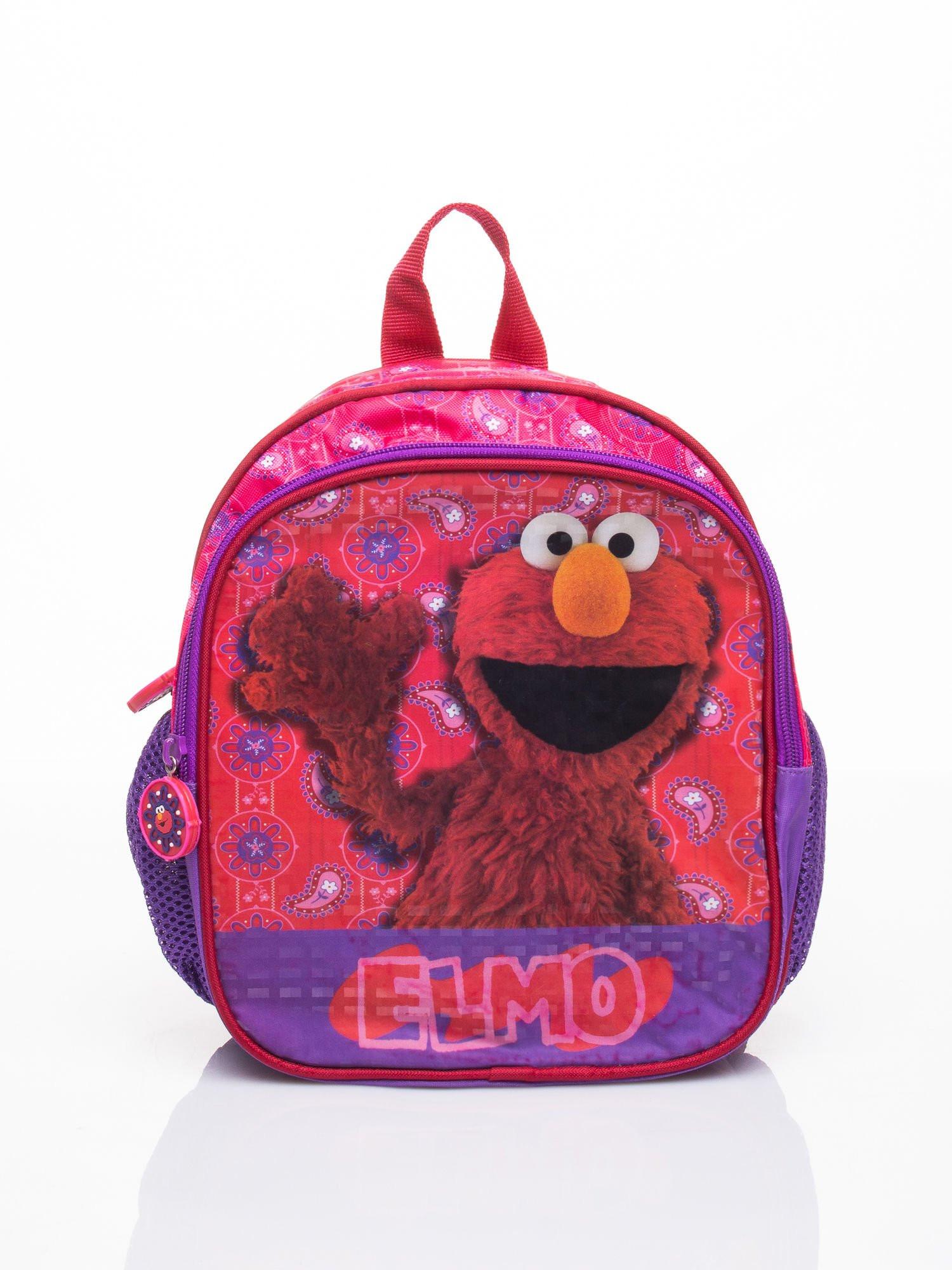 Fialový batoh do školy s motívom Sesame Street ONE SIZE