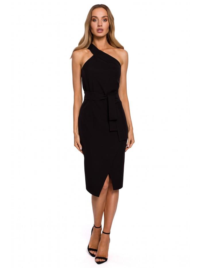 M572 Single Strap Dress EÚ S. čierna