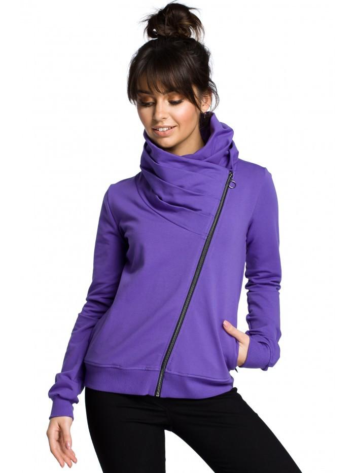 B071 Zipped sweatshirt EÚ XXL nachový