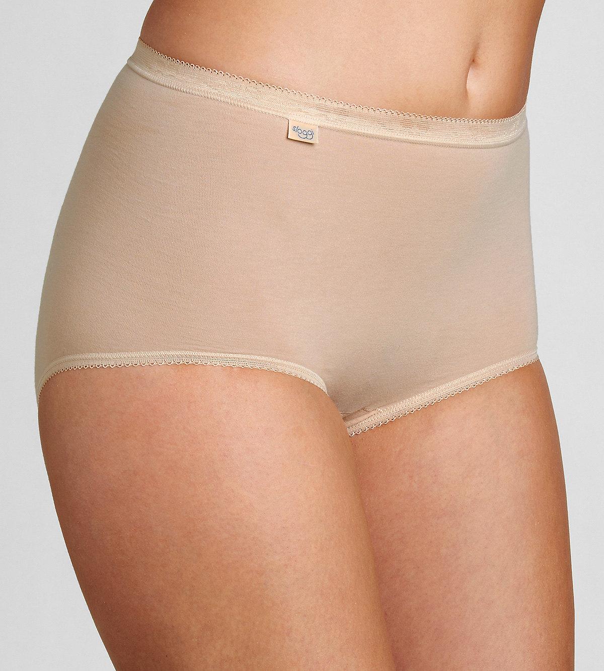 Kalhotky Sloggi Basic+ Maxi 2P tělová Velikost do filtru: 40, Barva Triumph: tělová (0026)