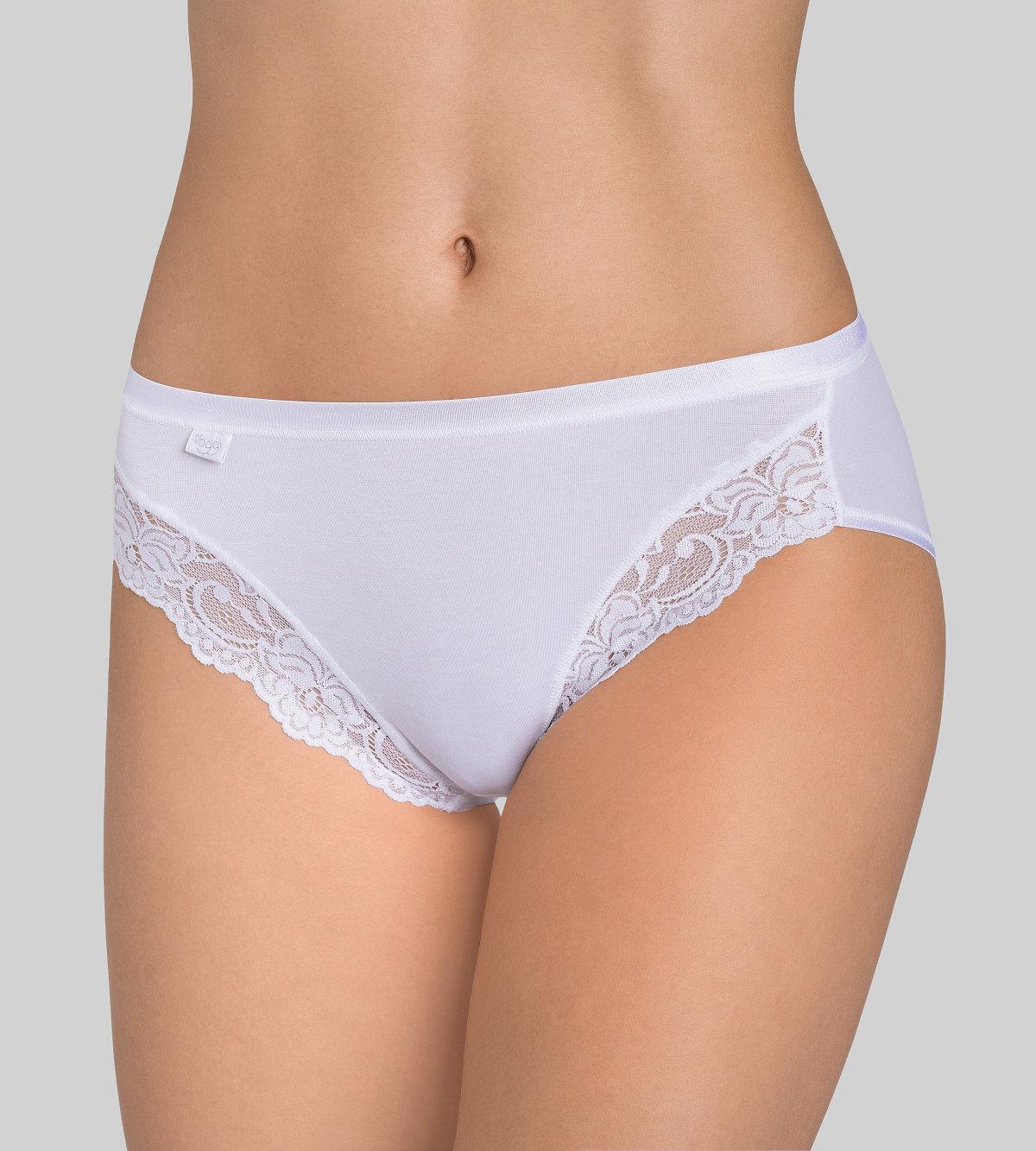 Kalhotky Sloggi Romance Tai bílé Velikost do filtru: 40, Barva Triumph: bílá (0003)