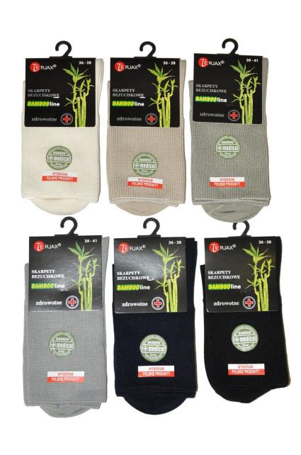Dámské ponožky Terjax Bamboo line netlačící Art.015
