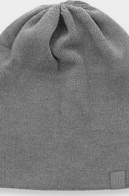 Dámská čepice 4F CAD161 SZARY MELANŻ