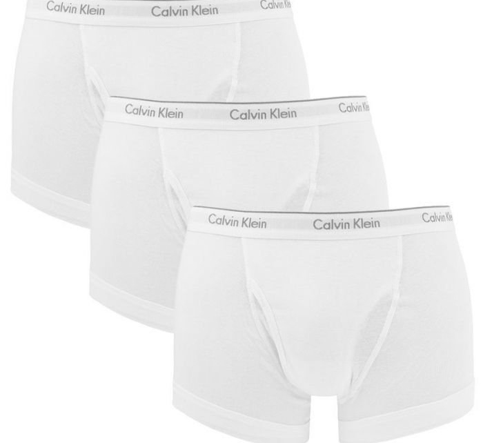 Calvin Klein 3Pack Boxerky Classic Fit White