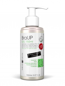 Gel na zpevnění poprsí BraUp Pearl&Voluplus Formula 150ml - Lovely Lovers