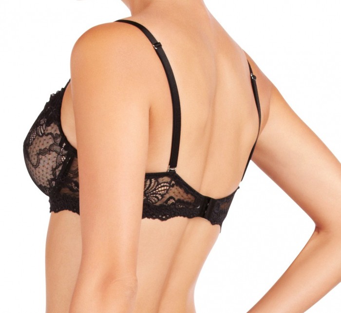 Podprsenka push-up My Fit Lace 86-4053 černá - Pleasure State