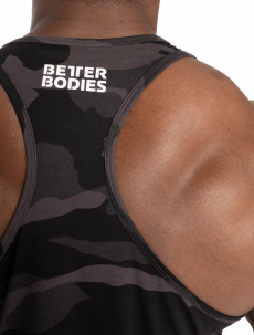 Better Bodies Tílko Essential T-Back Dark Camo